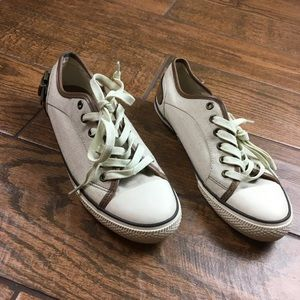 Aldo 9 Shell Toe Canvas Lace Up Shoes Sneakers